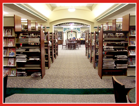 Beau Library Interiors